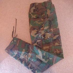 Army Camo Pants Size 29